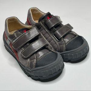 Naturino Leather Hook & Loop Sneaker Shoe Casual